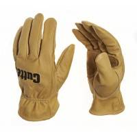 Cutter Dry Brown Goatskin gardening gloves