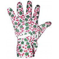 Floral Cotton garden Gloves