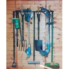 The Complete Garden Tool Rack